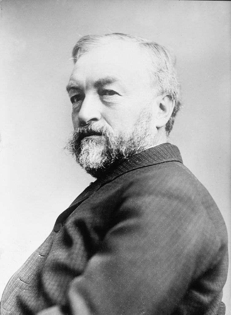 Portrait of Samuel Pierpont Langley