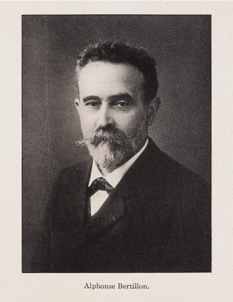Identification of Human Beings by the System of Alphonse Bertillon.
