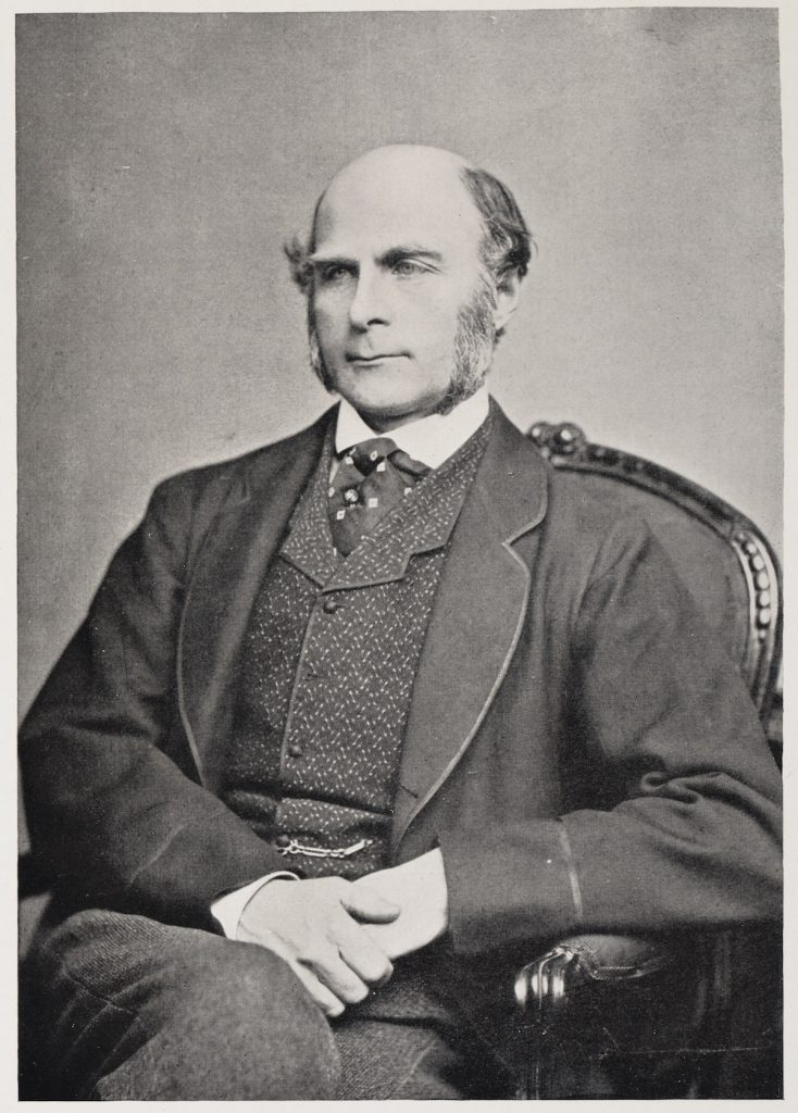 Portrait of Francis Galton