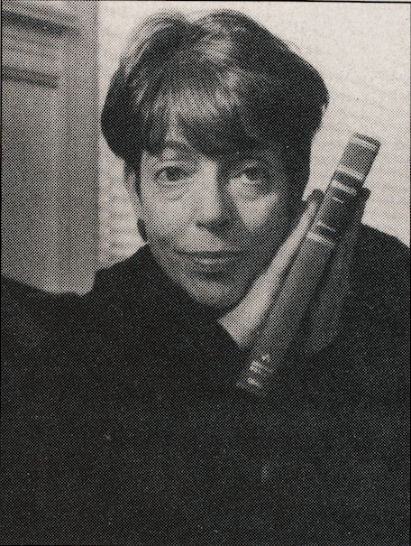 Black and white image of Shanna Helen Swan